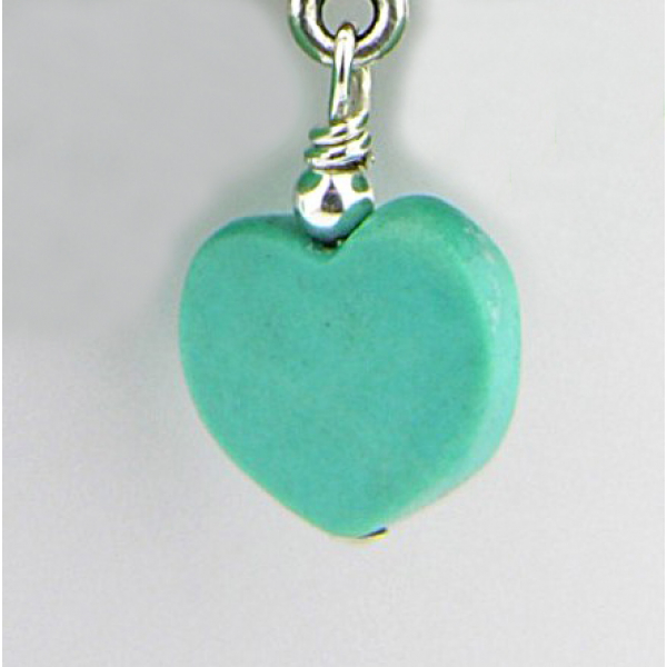 Turquoise heart option