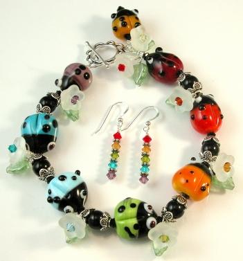 Ladybug Rainbow